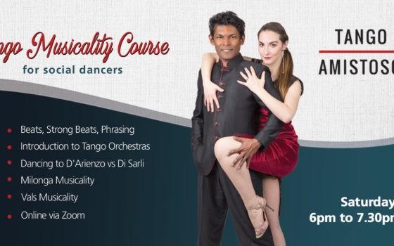 Tango Musicality Course by Winston Veerender and Silvia Bivolaru