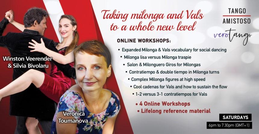 New Online Workshops: Milonga and Vals
