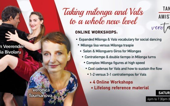 New Online Workshops: Milonga and Vals