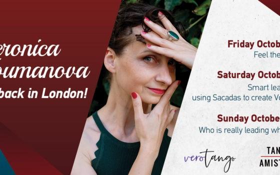 Veronica Toumanova is back in London
